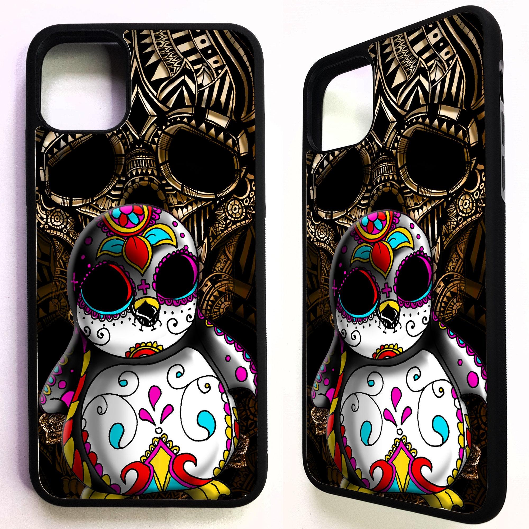 Sugar Skull Collage iPhone 11 case