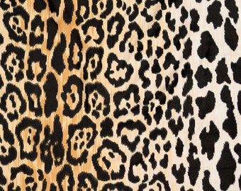 Velvety Cotton Leopard Print Fabric Braemore Jamil Multi Colored Floral  Home Decor Fabric - By the 1 2 Yard 5df91ce306db