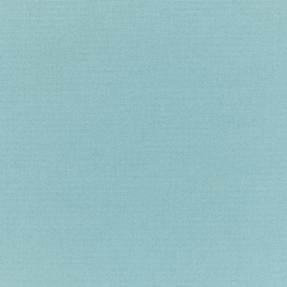 Sunbrella Fabric, Canvas Mineral Blue IndoorOutdoor Fabric, Blue Solid Fabric, Outdoor Upholstery Fabric, Mineral Blue Fabric By the Yard