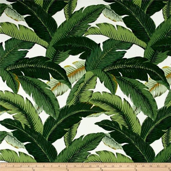 Banana Leaves Outdoor Fabric Upholstery Fabric Tommy Bahama Etsy