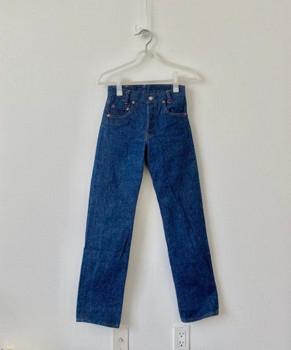 Levi's 701-0117 dead stock student fit jeans wms 2