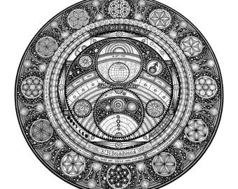300mm Encirclopedia. (Commission)