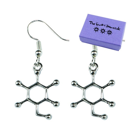 SCIENCE LAB PENDANT NECKLACE Chemistry Funky Quirky Atom Fun Geek Sign TFB