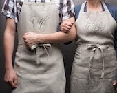 Mr & Mrs Aprons, Newlywed Gifts, Wedding Gift, Unique Wedding Gift, Wedding Shower Gift