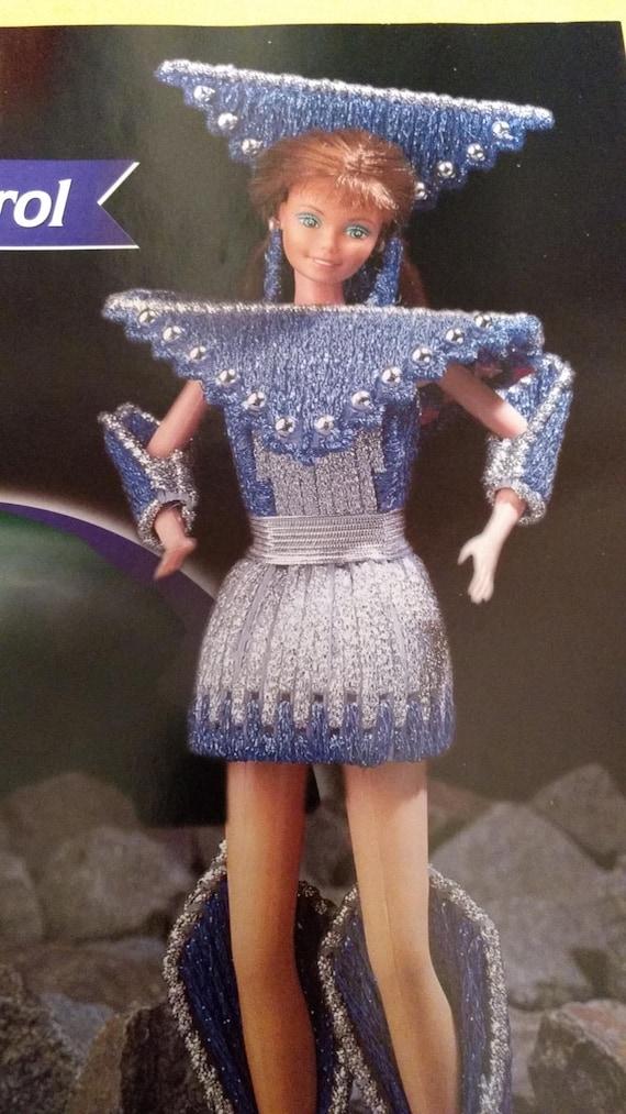 Fashion Doll Necklaces fit Barbie Annie/'s Plastic Canvas Pattern Leaflet