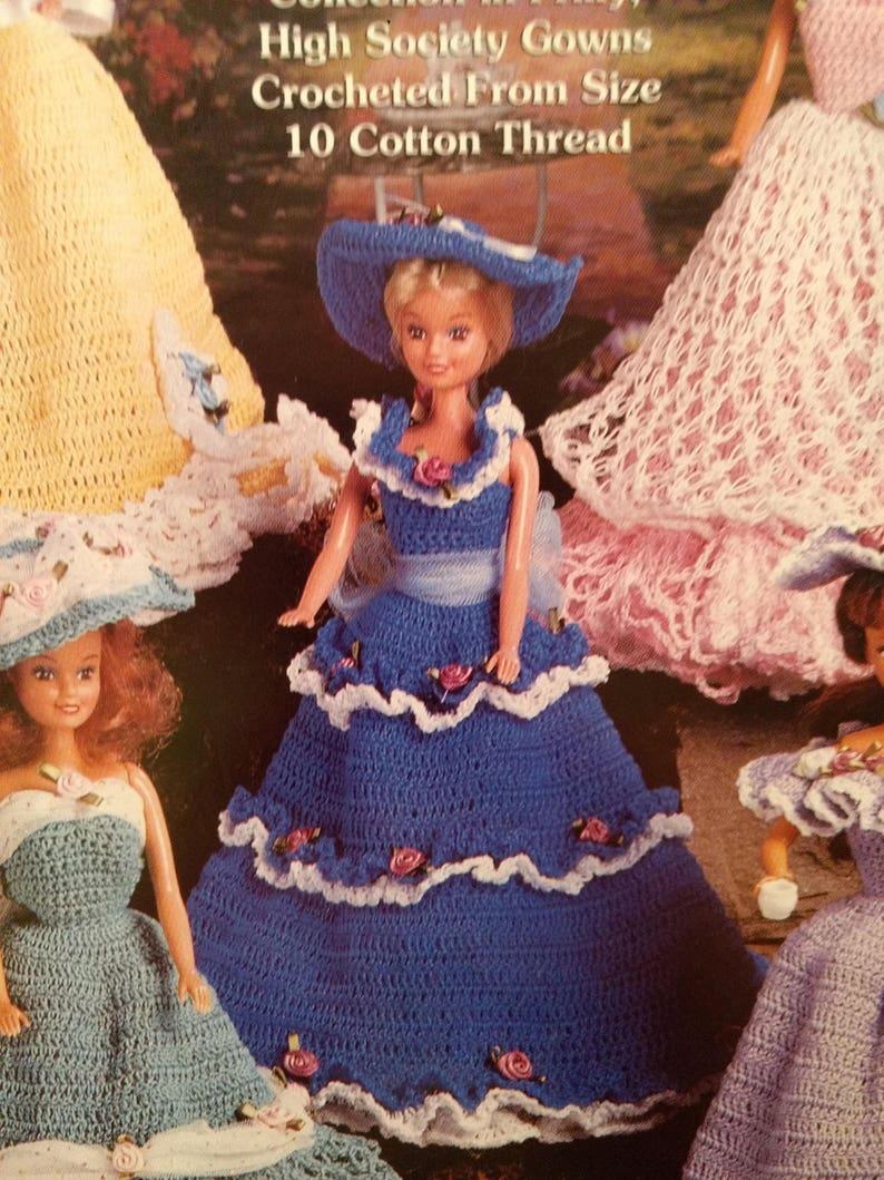 65d02f553e91e Fashion doll teatime dresses crochet pattern The Needlecraft Shop thread  crochet 11.5 inch doll vintage pattern