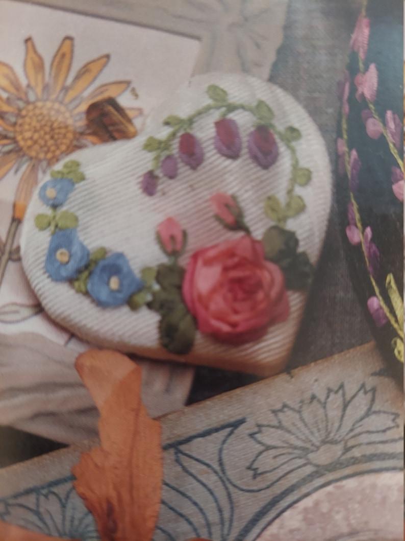 Ribbon Embroidery accessories pattern women girls