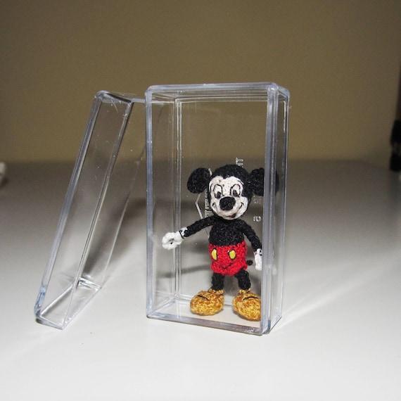 Mickey Mouse Miniatur Figuren Häkeln Handmade Mickey Mouse Etsy