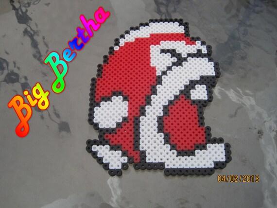 Items Similar To Pixels Big Bertha Fish Super Mario