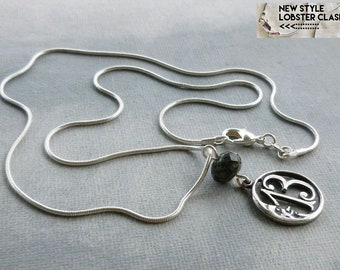 Lucky 13 Necklace Crescent Moon Number 13 Jewelry Thirteen