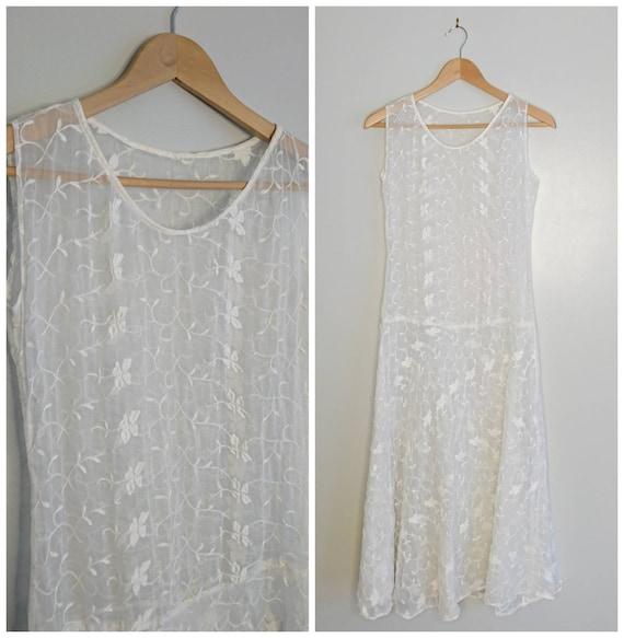 Vintage 20's Flapper Wedding Dress XXS
