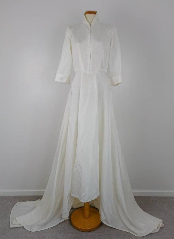 Vintage 40's wedding Dress sz S