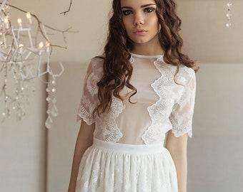 Dress SS15   Wedding dress Boho wedding dress Romantic Wedding Dress vintage wedding dress elegant wedding gown