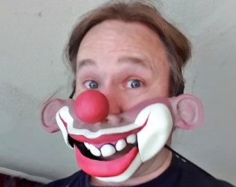 Clown ventriloquist  mask