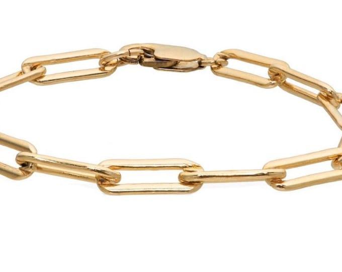The Milano large Link Bracelet  14k gold filled
