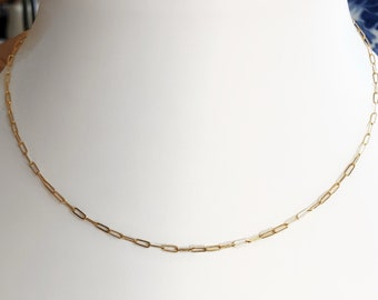14k gold Barely There Link Chain