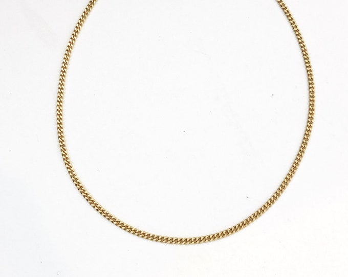 The New Yorker Simple Gold chain necklace