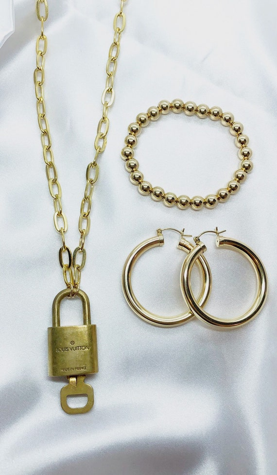Large Gold Bead bracelet 14k gold filled