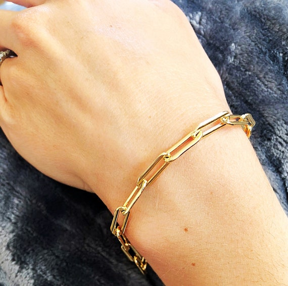 The Milano Link Bracelet  14k gold filled