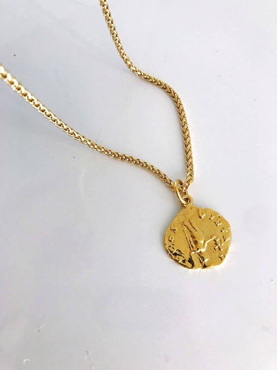 The Roma Coin Necklace  *bestseller