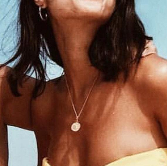 The Alexis Coin Necklace  #gold coin  necklace