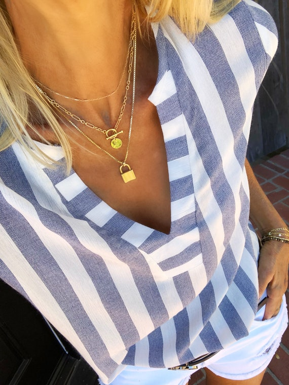 The Bali Toggle Necklace