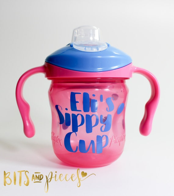 Personalized Sippy Cups Toddlers Love