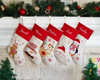 PERSONALIZED Christmas Stocking, Christmas stockings, stocking, monogrammed stocking, embroidered, personalized christmas stockings, holiday