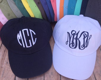 0dfb20ed6dd Monogrammed Baseball Hat