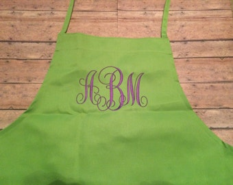 Personalized Apron, kid apron, Monogram apron, child apron, monogram, apron, Kids apron, personalized gift, child gift, adult, monogramed