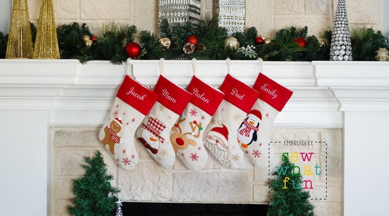 PERSONALIZED Stocking Christmas stockings stocking image 0