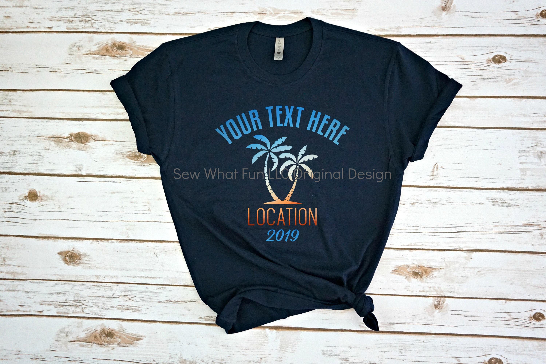 Custom Vacation Shirts Custom Family Vacation Shirts Family Vacation Shirts Vacation Shirts Custom Custom Shirt Custom Vacationfamily Unisex Tshirt