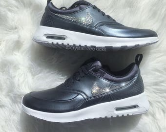 LIMITED Nike Air Max Thea SE Made with SWAROVSKI  Crystals  SWAROVSKI  Etsy f8100a