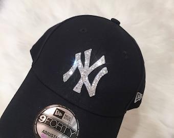 39753e2ad0d New Era NY Yankees Team Hat Made with SWAROVSKI® Crystals