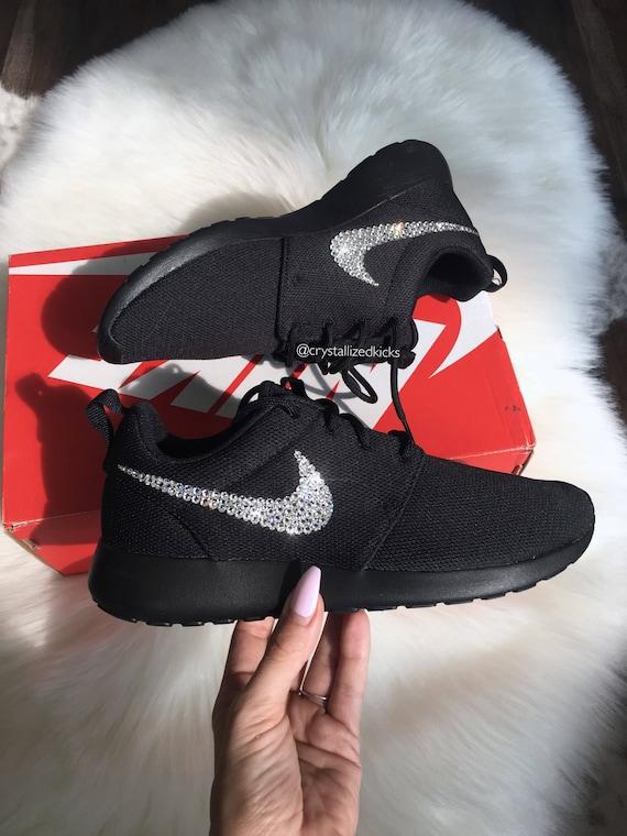 Swarovski Women s Nike Roshe One Made with SWAROVSKI®  2db2040402