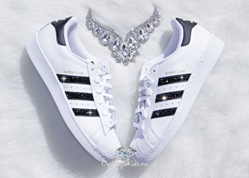 revendeur c6fab f4488 Adidas Original Superstar Made with SWAROVSKI® Xirius Rose Crystals