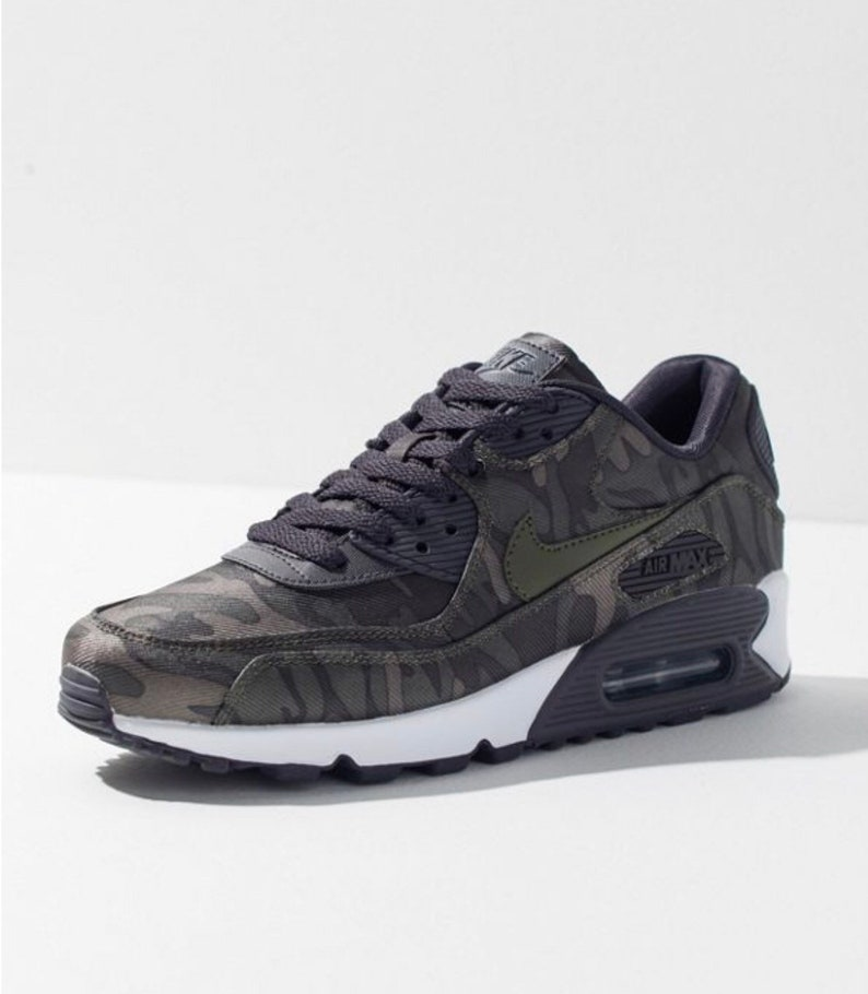quality design c3890 d0444 Women s Nike Air Max 90 Black Black Gold Made with   Etsy