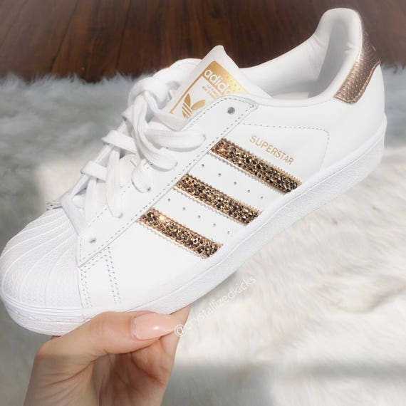 f72a655902a4 Adidas Original Superstar Made with SWAROVSKI® Xirius Rose