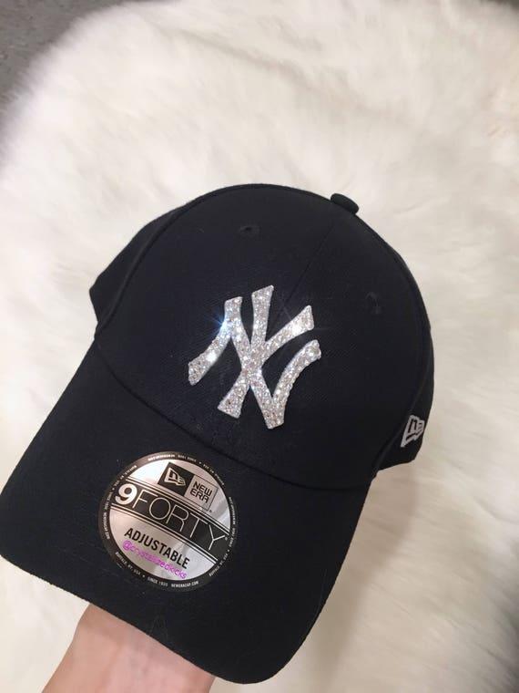 New Era NY Yankees Team Hat Made with SWAROVSKI® Crystals  863f4ae9b6d