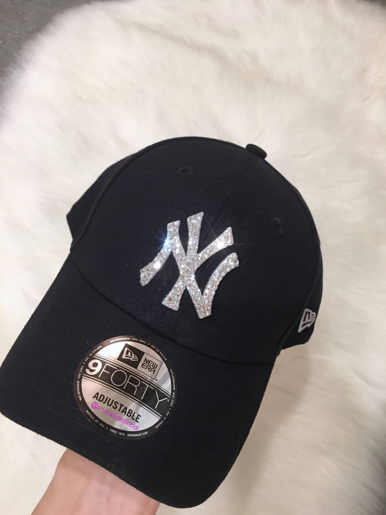 3c3a7d06e8c New Era NY Yankees Team Hat Made with SWAROVSKI® Crystals