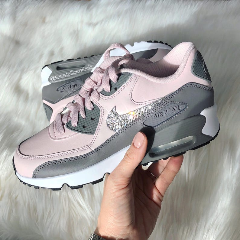 Swarovski bling Nike Air Max 90 Sneakers Made with SWAROVSKI®  29d49281825c