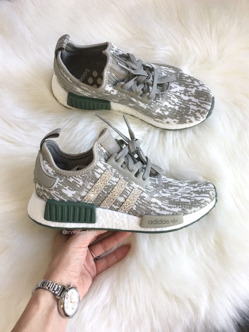low priced 6f069 6f513 Adidas NMD Runner Made with SWAROVSKI® Xirius Rose Crystals   Etsy
