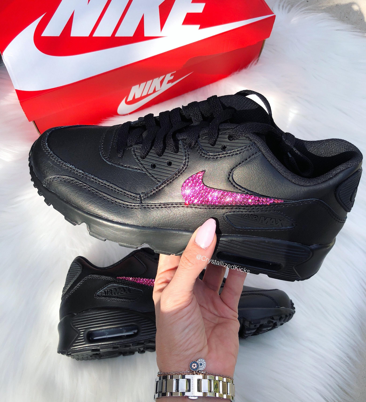 Swarovski Nike Air Max 90 Shoes Made with SWAROVSKI® Crystals  5608dd6b69