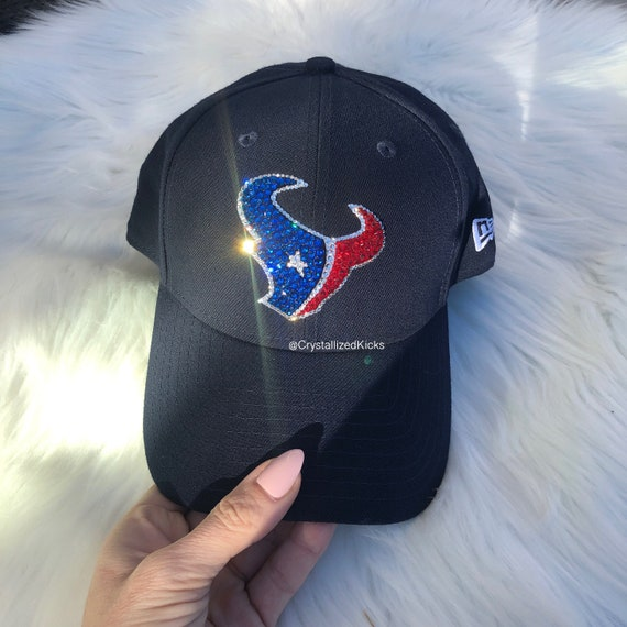 Bling New Era Houston Texans Hat Made with Swarovski Crystals  5abd3956849