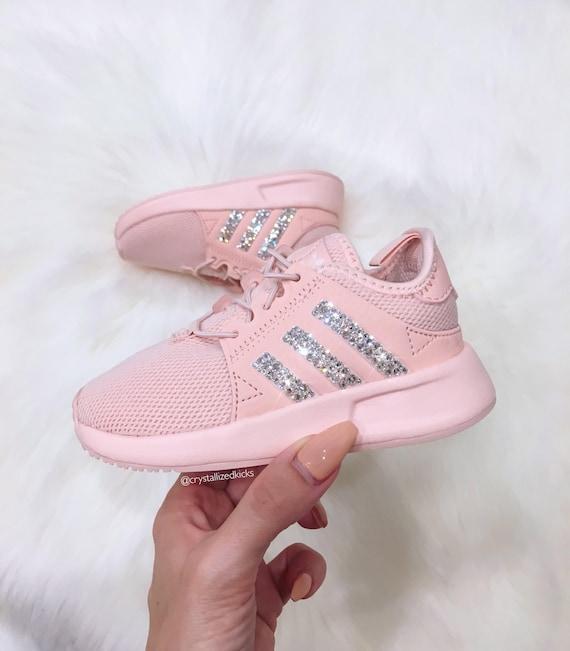 watch 529cb 028b4 Girls Preschool Adidas Originals XPLR Made with SWAROVSKI® | Etsy