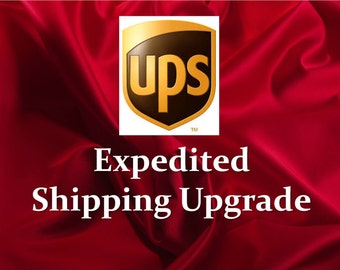 Expedited Shipping for Gloria Rosaries, Shipping Upgrade, Overnight Shipping, Last Minute Gift