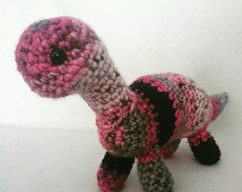 Made To Order - Handcrafted Custom Crocheted Brachiosaurus in Your Choice Of Colors!