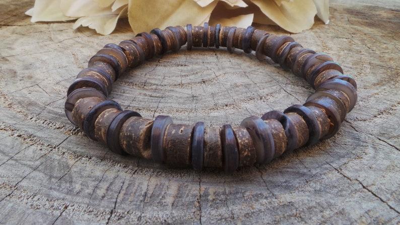 d46ff48c5797 Mens bracelet. Mens surfer style bracelet. Mens beaded