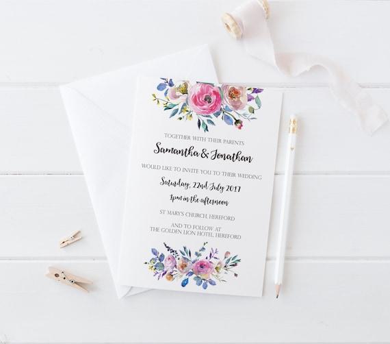 sample rsvp wedding cards