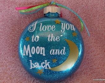 Original Birch Ornament Teton Moon